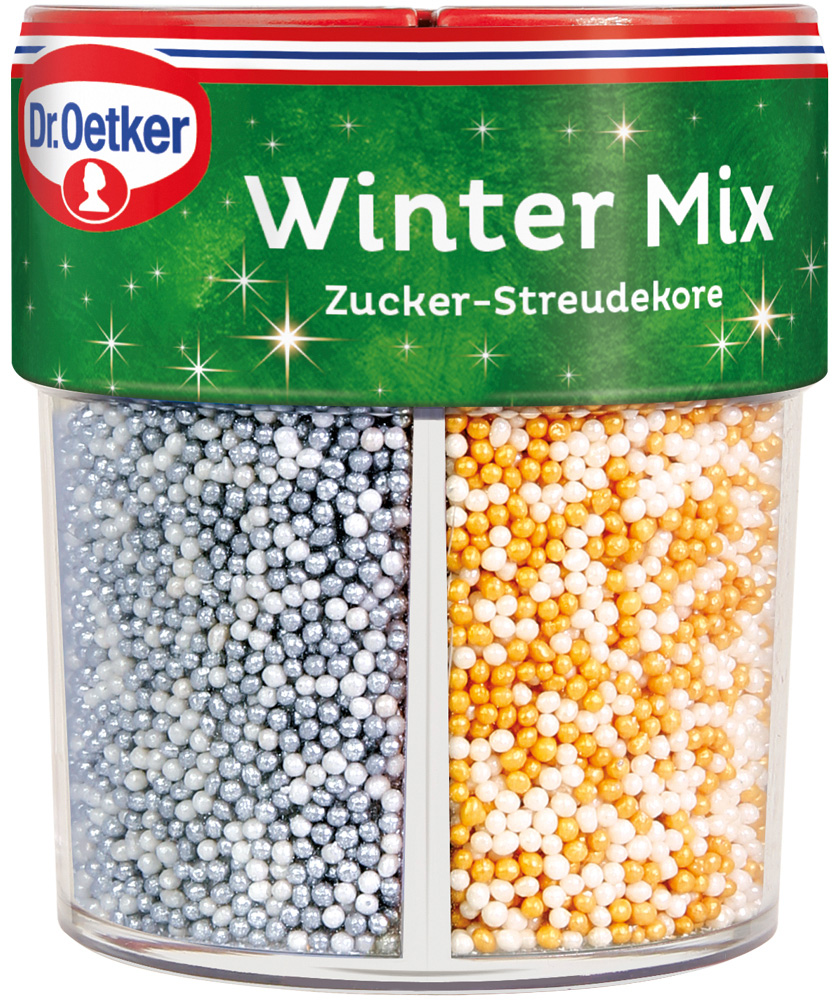 Dr. Oetker Winter Mix Streudekor 86g