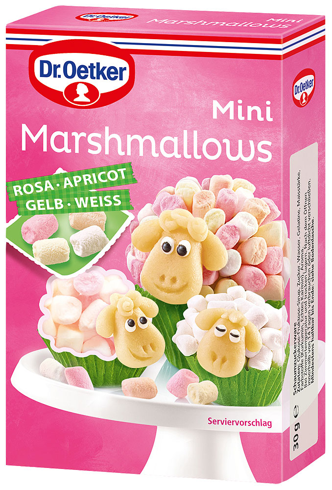 Dr. Oetker Mini Marshmallows 30g