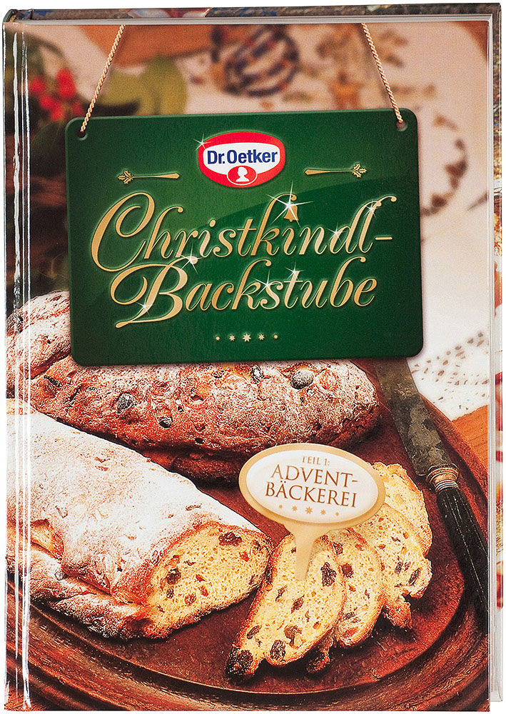 Dr. Oetker Christkindlbackstube: Adventbäckerei