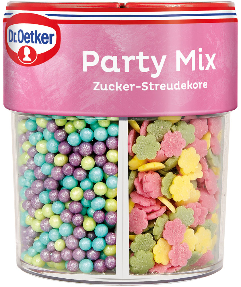 Dr. Oetker Party Mix Streudekor 79g